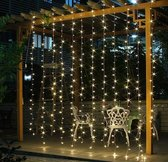 Kerstverlichting LED Gordijn - 300 LED's - 3x3 meter