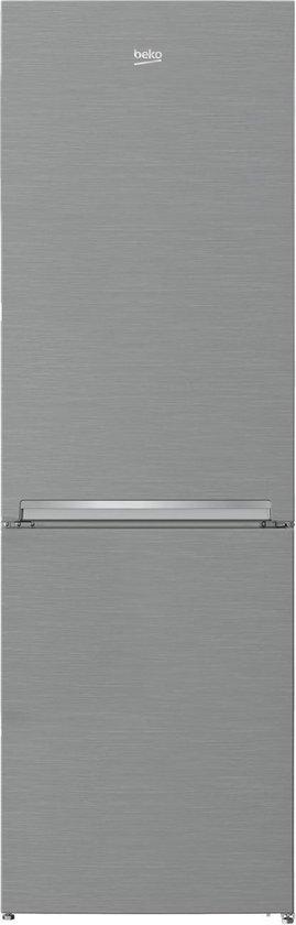 Koelkast: Beko RCSA330K30PT - Vrijstaade koelvries combinatie - rvs look, van het merk Beko