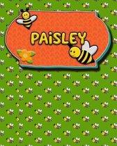 Handwriting Practice 120 Page Honey Bee Book Paisley