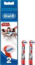 Oral-B Stages Power Star Wars - Opzetborstels - 2 stuks