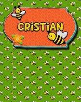 Handwriting Practice 120 Page Honey Bee Book Cristian