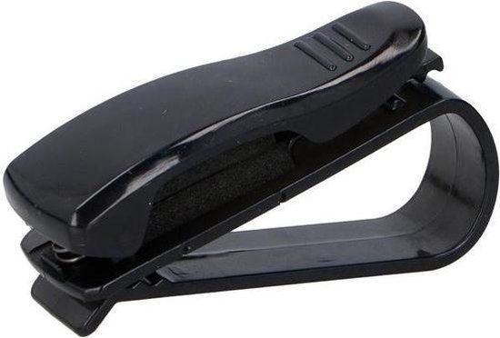 Zonnebrilklem voor zonneklep - Zonnebrilhouder voor in de auto - Brilclip - Auto accessoires