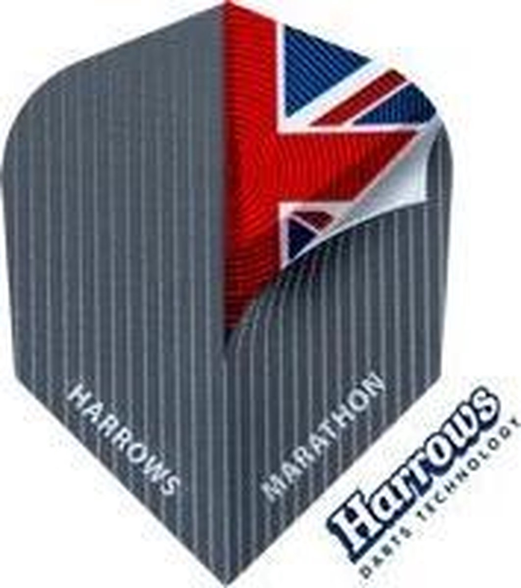 Harrows Marathon Union Jack Set à 3 stuks