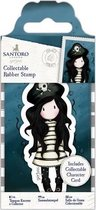 Collectable Rubber Stamp - Santoro - No. 49 Piracy