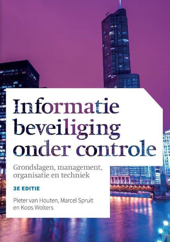 Informatiebeveiliging onder controle - Pieter van Houten | Fthsonline.com