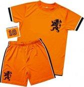 Voetbal tenue voor kinderen 6-8 jaar (M)
