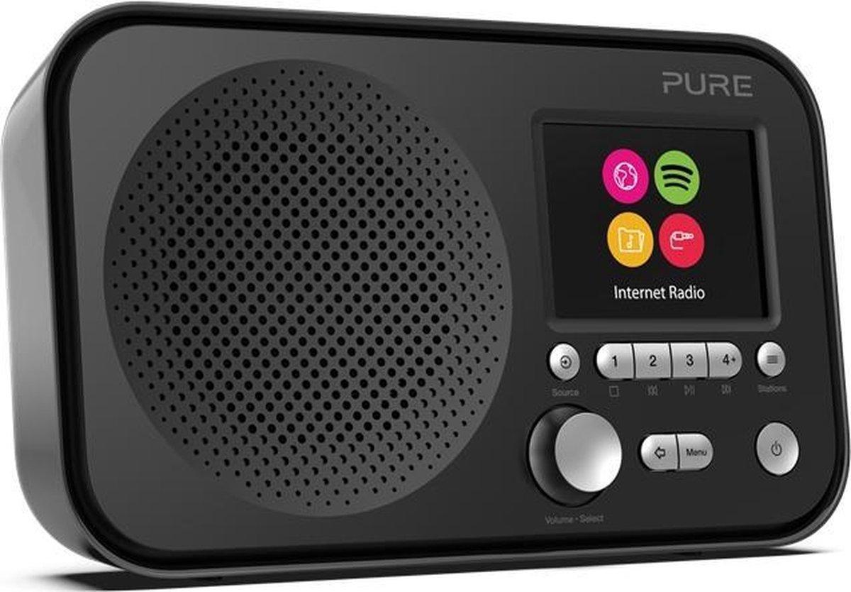 Pure Elan IR3 radio Draagbaar Analoog & digitaal Zwart