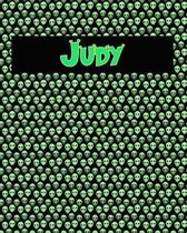 120 Page Handwriting Practice Book with Green Alien Cover Judy