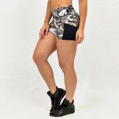 Dames highwaist – sportbroek – sportshort – Design Costwo – Maat L