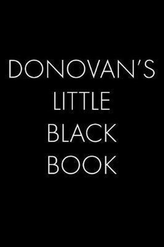 Donovan's Little Black Book