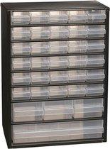 Raaco - Metalen ladekast - 34 laden - Incl. 10 tussenschotten