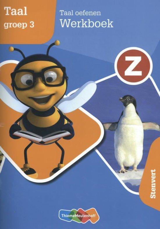 Z-Taal Taal oefenen groep 3 Werkboek - Paul Bemelen  