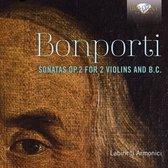 Bonporti: Sonatas Op.2 For 2 Violins And B.C.