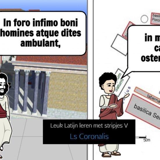 Leuk Latijn leren met stripjes V - Ls Coronalis | Fthsonline.com