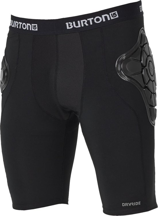 Burton Impact Short Heren Bodyprotector - Black - Maat XL