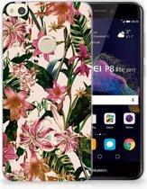 Huawei P8 Lite 2017 Uniek TPU Hoesje Flowers