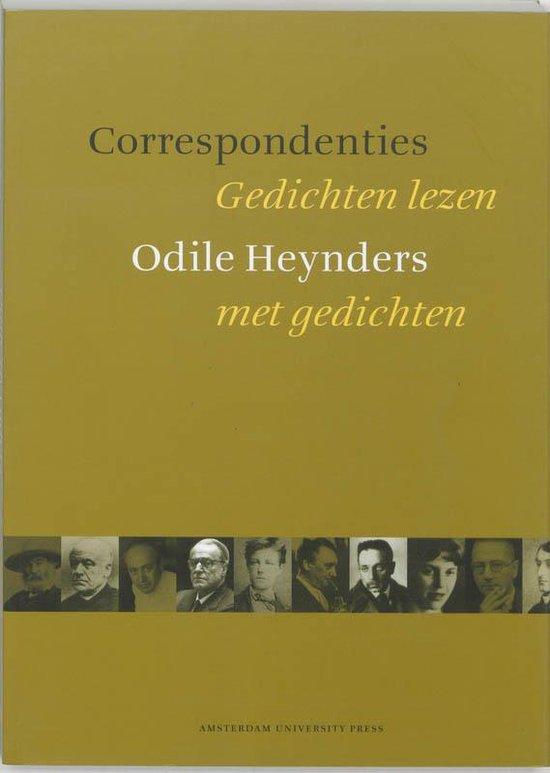 Correspondenties - Odile Heynders  