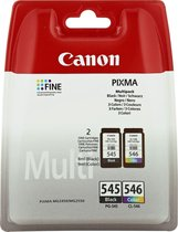 Canon PG-545/CL-546 - Inktcartridge / Zwart / Kleu