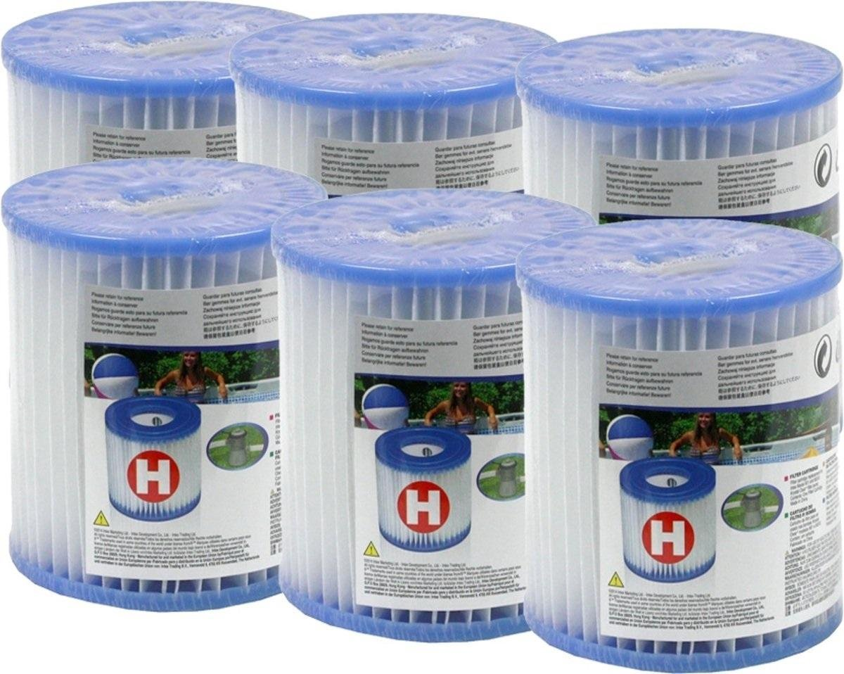 Intex Filter Cartridge H (6 stuks)