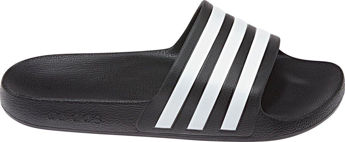 adidas Adilette Aqua Heren Slippers - Core Black/Ftwr White/Core Black - Maat 40.5