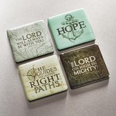 Magnet Set of 4 the Lord Will