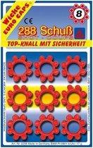 Klappertjes voor Pistool 8 Schots - 36x8