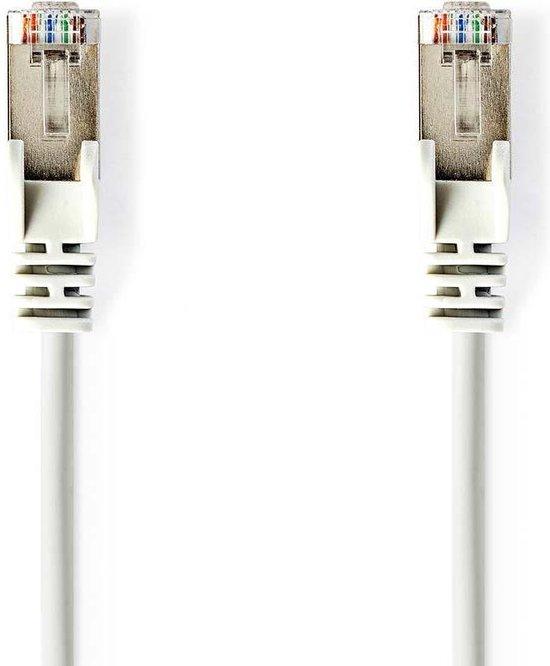 Nedis CCGP85227WT50 netwerkkabel 5 m Cat6 SF/UTP (S-FTP) Wit