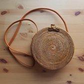 DUA Bali tas Dames Crossbodytas Bruin classic 20 cm