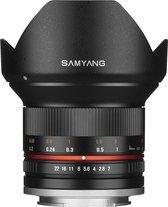 Samyang 12mm - F2.0 Ncs Cs - Prime lens - Geschikt voor Fujifilm X - Zwart