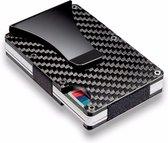 Mini Wallet Unisex Creditcardhouder Zwart l Grijs