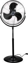 Ventilator   Vloerventilator   Statiefventilator - Metaal 45cm - 140 Watt