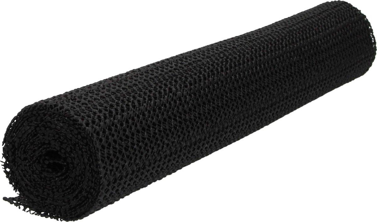 Multifunctionele Non Slip Gripmat   Zwart   30x150cm   Niet Klevende Antislipmat Gaas Patroon voor B