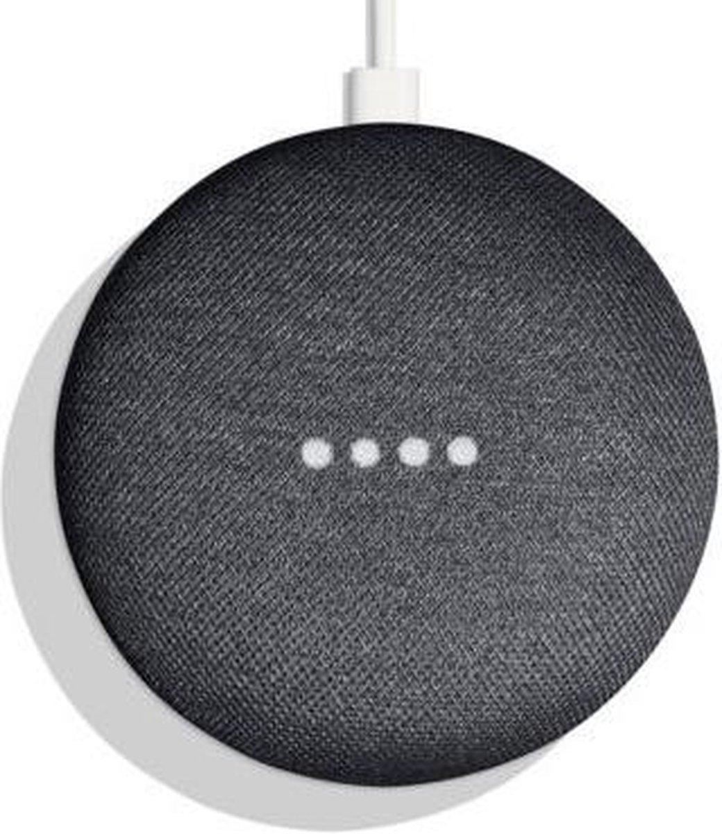 Google Home Mini - Smart Speaker / Zwart / Nederlandse handleiding