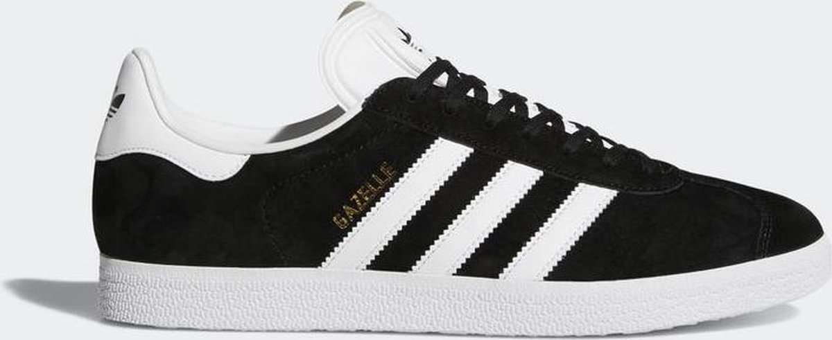 adidas Gazelle Heren Sneakers - Core Black/Footwear White/Clear Granite - Maat 43 1/3 - adidas