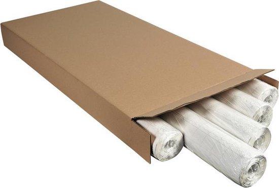 Afbeelding van Voordeelpak 100 vel flipoverpapier geruit en geperforeerd 65x100cm