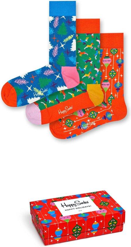 Happy Socks Singing Retro Holiday Giftbox - Maat 41-46
