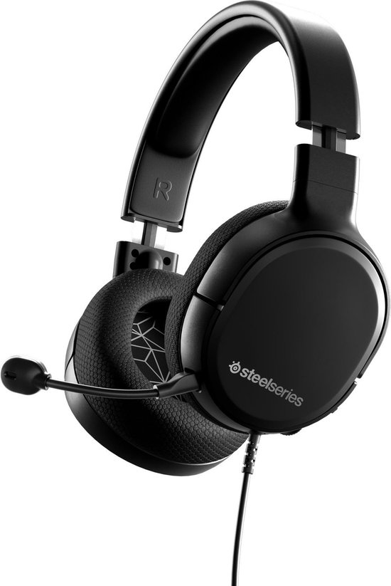 SteelSeries Arctis 1 - 2019 Editie - Gaming Headset - Zwart - PlayStation 4 + Nintendo Switch + PC