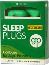Get Plugged Sleep Plugs Oordoppen - 7 paar