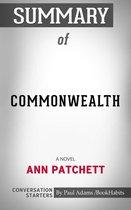 Boek cover Summary of Commonwealth van Paul Adams