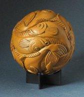 Beeldje - Sphere - Escher - Fish - mozaiek