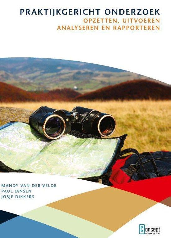 Boek cover Praktijkgericht onderzoek van Mandy van der Velde (Paperback)