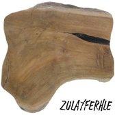 Decoratieve Teakhouten Schijf - Houten Broodplank - Decoratieve Broodplank - Duurzaam Hout - ZulayFerhle
