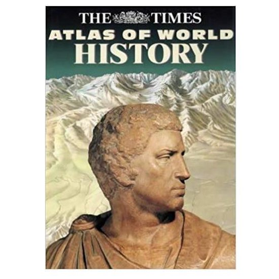 Boek cover The Times Atlas of World History van Geoffrey Parker (Hardcover)