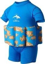 Konfidence - Drijfpakje/Zwempak - Clownfish Blauw - 1-2 jr / 12-16 kg