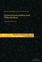 Geisteswissenschaften und Öffentlichkeit linguistisch betrachtet