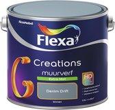 Flexa Creations Muurverf - Extra Mat - Denim Drift - 2,5 liter