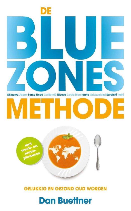 Boek cover De blue zones-methode van Dan Buettner (Onbekend)