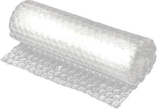 Bubbel Folie | Bubble Wrap inpak folie | Bubbelfolie | Noppenfolie | 50 CM x 5 M Ideal voor verhuizen of knutselen