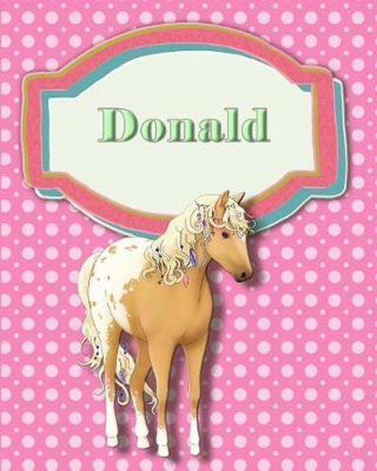 Handwriting and Illustration Story Paper 120 Pages Donald
