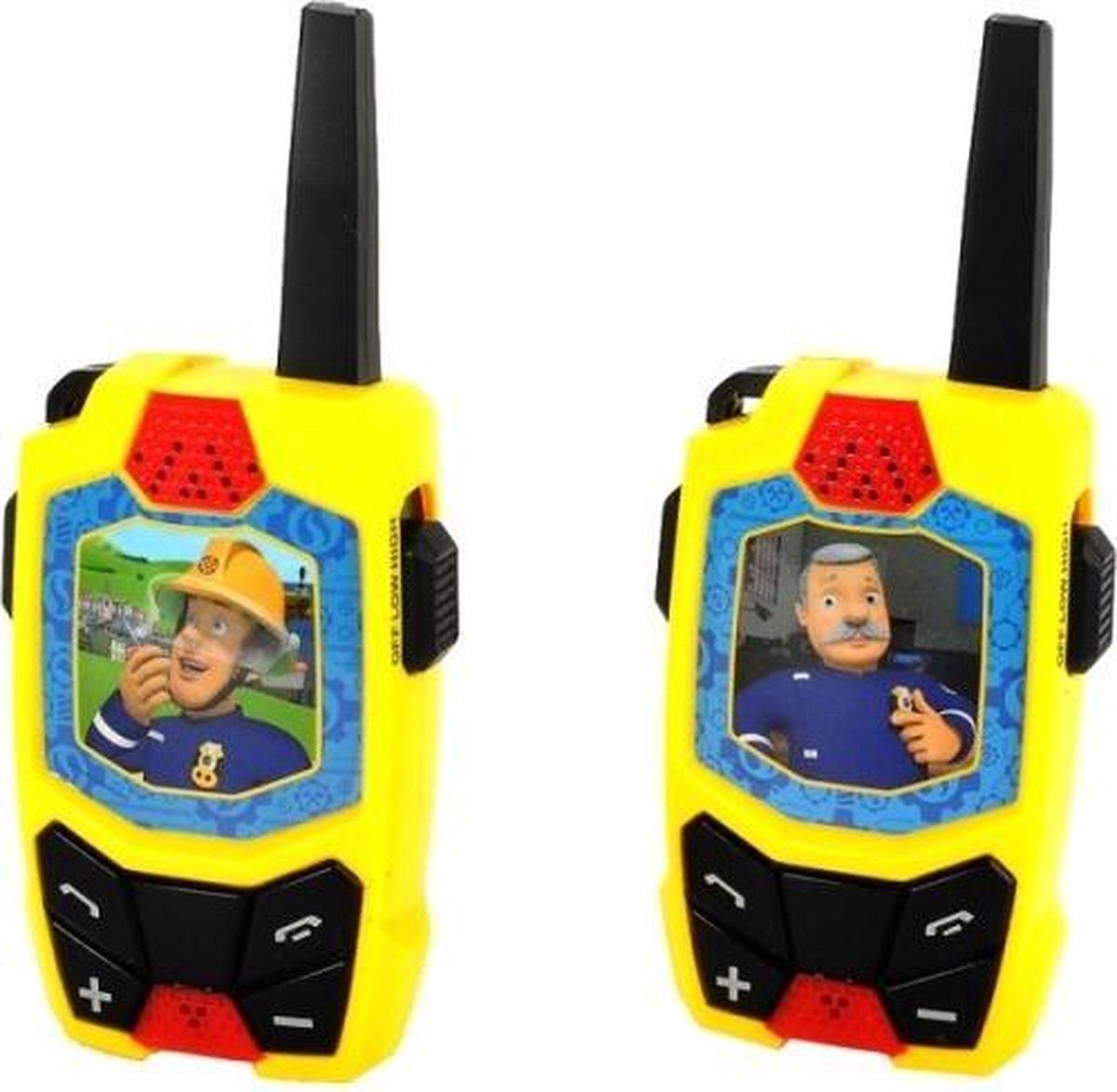 Brandweerman Sam Speelgoed Walkie Talkie voor Kinderen - 250M